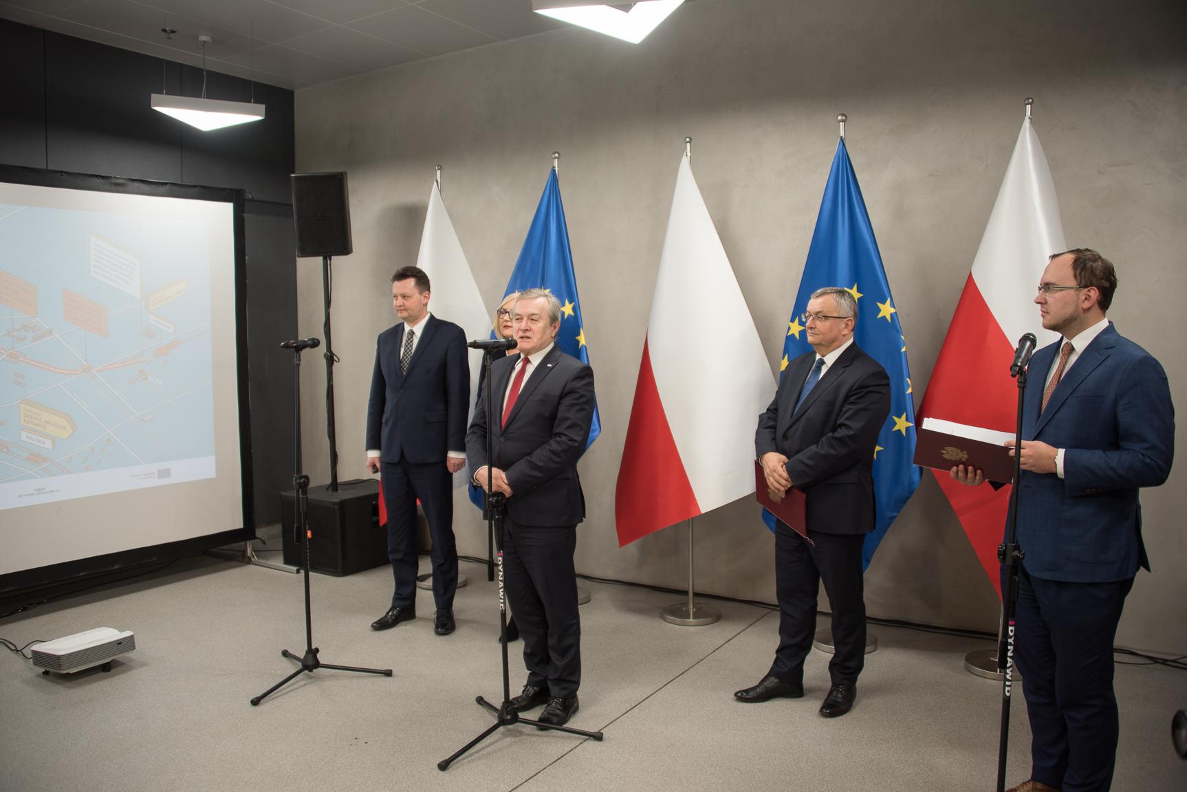Konferencja prasowa w Łodzi