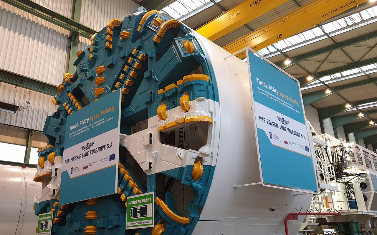 Maszyny do drążenia tuneli przyjadą na budowę podziemnej linii